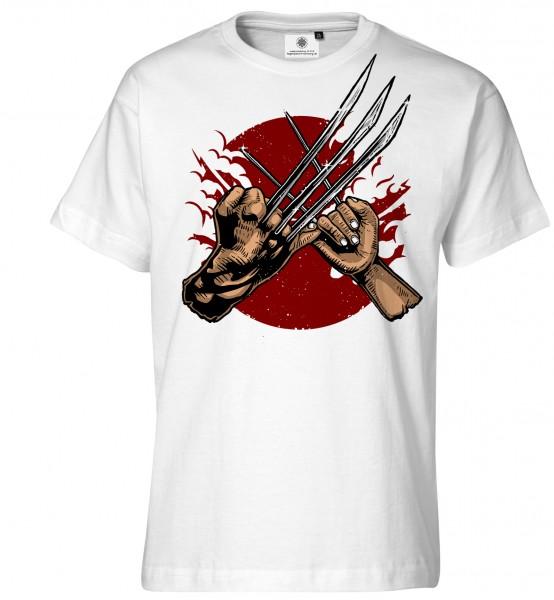 Bedrucktes Herren Wolverine T-Shirt Like Father Like Daughter