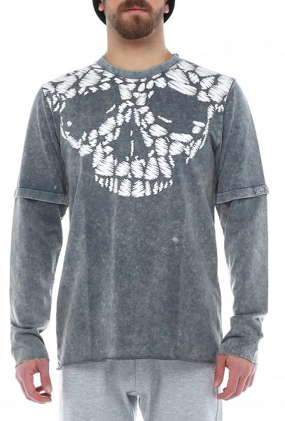 Rockupy Longsleeve Shirt Skull