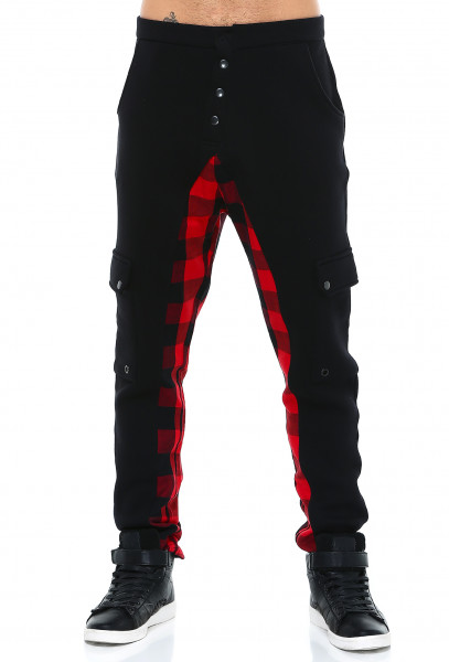 Rockupy Streetwear Hose Checkered