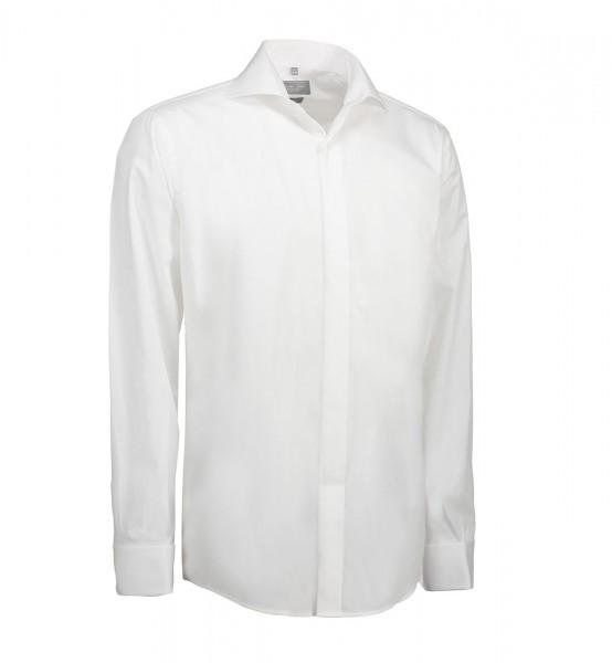 Seven Seas Poplin | Tuxedo - Herrenhemd Modern Fit mit Doppelmanschette