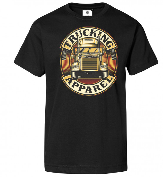Bedrucktes Herren Brummi T-Shirt Trucking Apparel