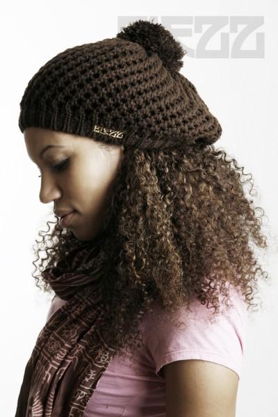Blezz Hat - Malabo Large, darkbrown