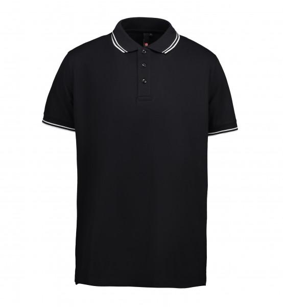 ID 0522 Stretch Poloshirt Kontrast für Herren