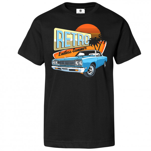 Bedrucktes Herren Oldtimer T-Shirt Retro Endless Summer