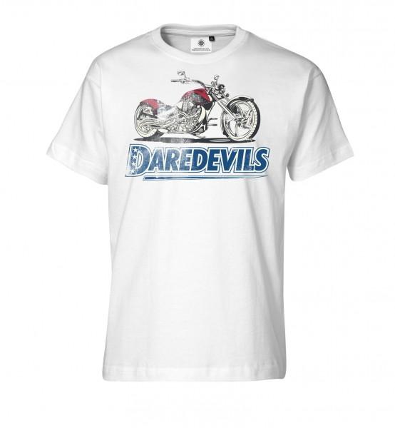 Bedrucktes Herren Biker T-Shirt Daredevils Racing