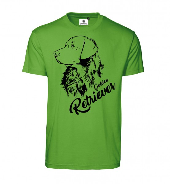 Bedrucktes Herren T-Shirt Golden Retriever