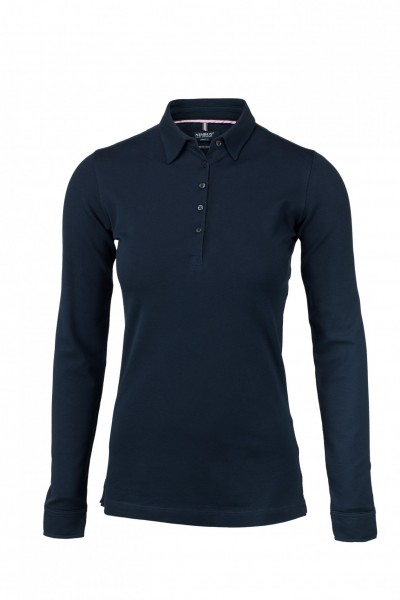 NIMBUS Damen Longsleeve-Polo Carlington Ladies