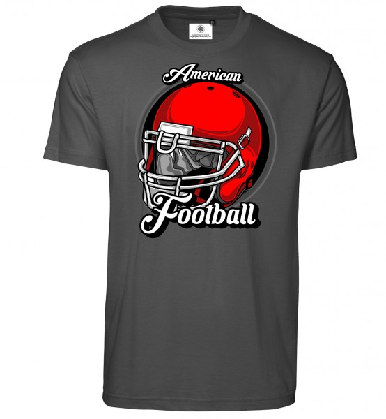 Bedrucktes Herren Sports T-Shirt American Football Helmet