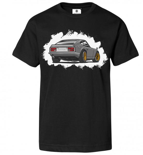 Bedrucktes Herren Sportwagen T-Shirt Fairlady Z