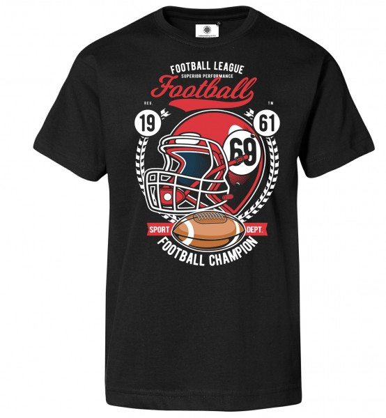 Bedrucktes Herren NFL T-Shirt American Football Champion