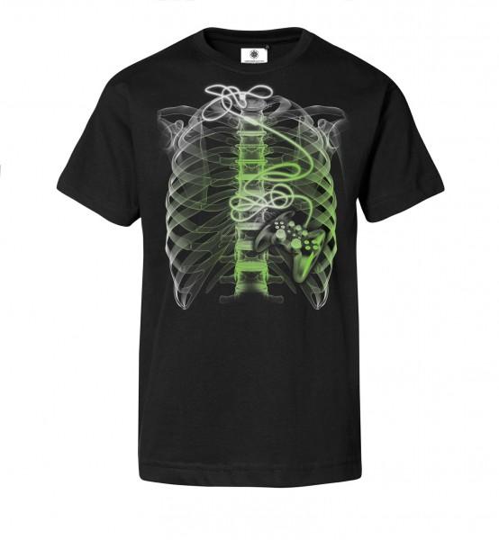 Bedrucktes Herren T-Shirt mit Motiv Gamer