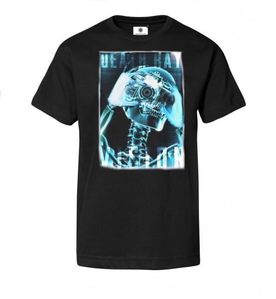 Bedrucktes Herren T-Shirt Death Ray Vision