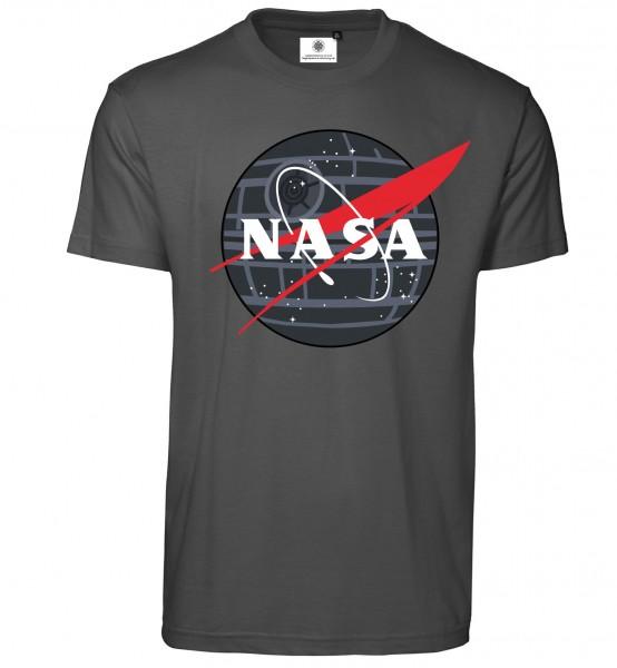 Bedrucktes Herren NASA T-Shirt Star Wars Todesstern