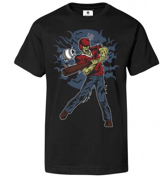 Bedrucktes Herren T-Shirt Zombie Baseball
