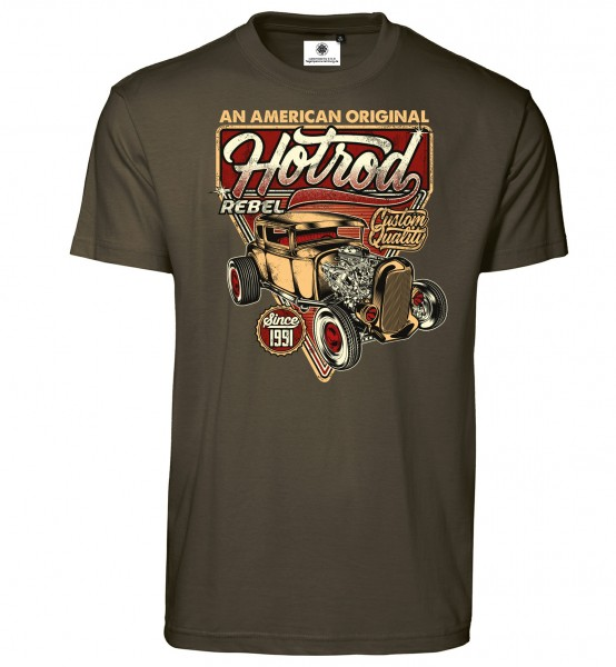 Bedrucktes Herren Tuning T-Shirt American Original Hot-Rod