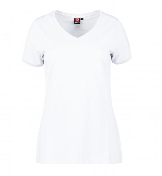 PRO Wear 0373 CARE V-Neck Damen T-Shirt