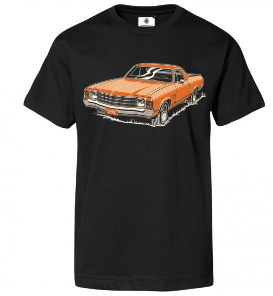 Bedrucktes Herren Oldtimer T-Shirt El Camino