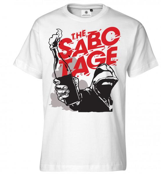 Bedrucktes Herren Urban Riot T-Shirt The Sabotage