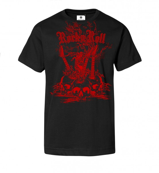 Bedrucktes Herren T-Shirt Rock´n´Roll