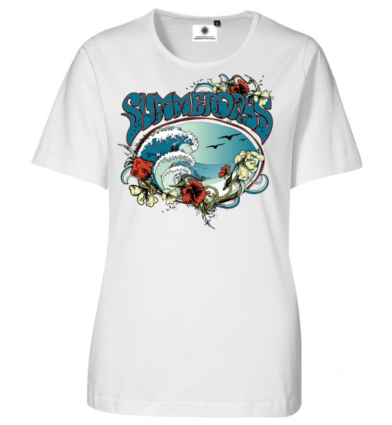 Bedrucktes Damen T-Shirt Summerdays