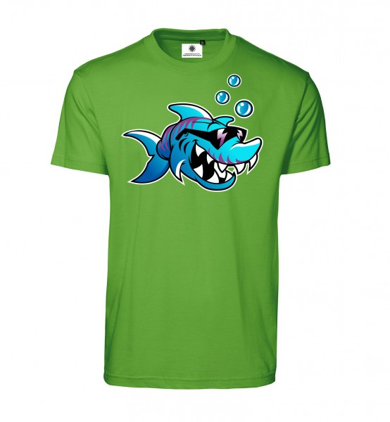 Bedrucktes Herren T-Shirt Tough Shark