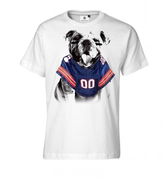 Bedrucktes Herren T-Shirt American Bulldog