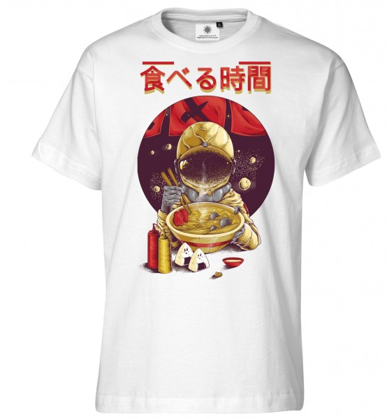 Bedrucktes Herren Ramen T-Shirt Asian Japanese Eat Time