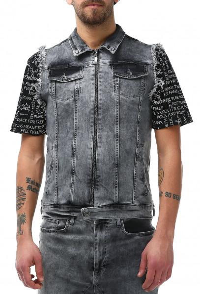 Rockupy Jeans Weste