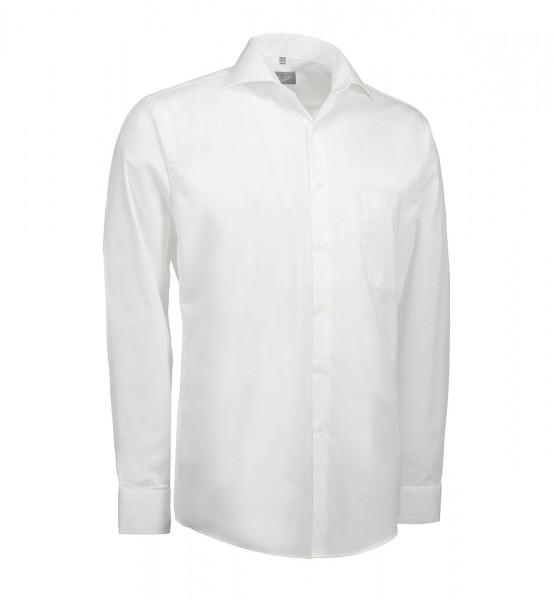 Seven Seas Poplin - Herrenhemd Modern Fit mit Brusttasche