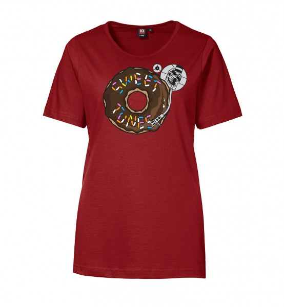 "Printed T-Shirt ""Sweet Tunes"" Ladies"
