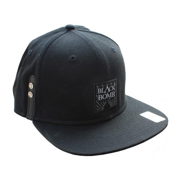 Black Bomb {Explo} Snapback Cap Twill