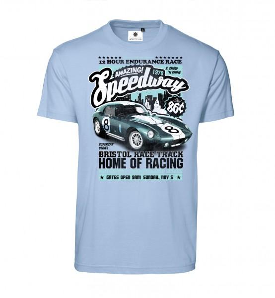 Bedrucktes Herren Racing T-Shirt Amazing Speedway