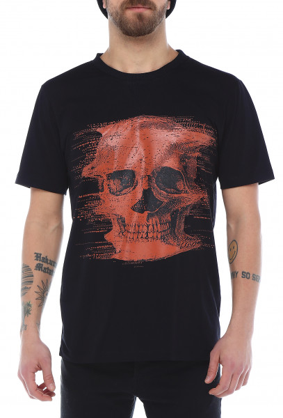 Rockupy T-Shirt Red Skull