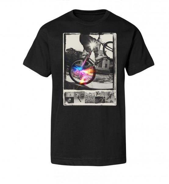 Bedrucktes Herren Streetwear T-Shirt Urban BMX