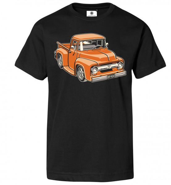 Bedrucktes Herren Oldtimer T-Shirt F100 PickUp