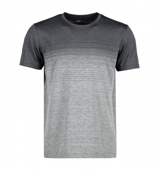 GEYSER G21024 Man Seamless S/S T-Shirt | Striped