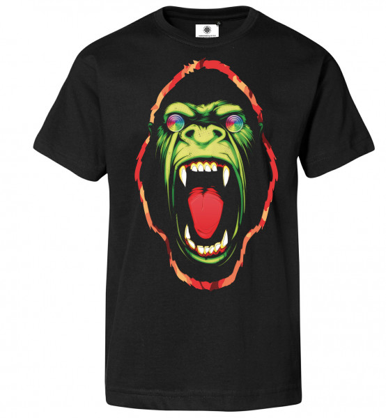 Bedrucktes Herren Gorilla T-Shirt Hypnotic Ape