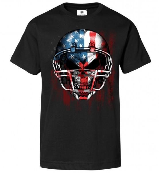 Bedrucktes Herren T-Shirt American Football