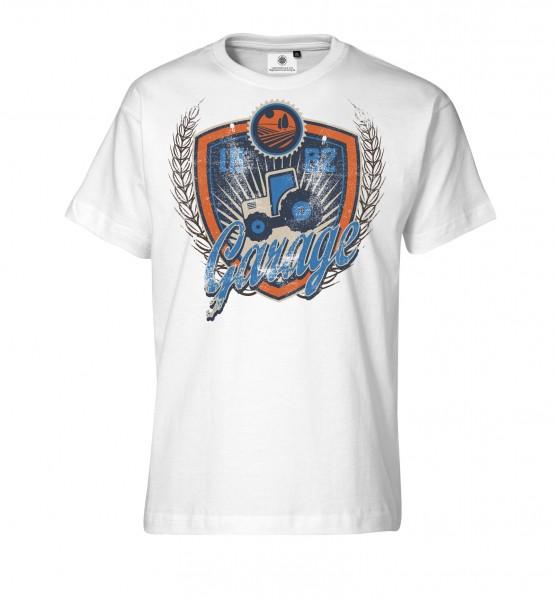 Bedrucktes Herren T-Shirt 1882 Garage