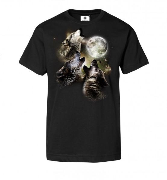 Bedrucktes Herren T-Shirt mit Motiv CryWolves