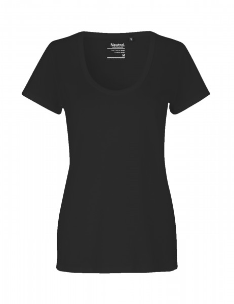 Neutral Ladies Deep Round Neck T-Shirt