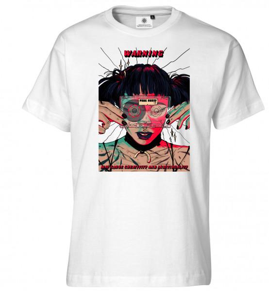 Bedrucktes Herren Underground T-Shirt Cyberpunk