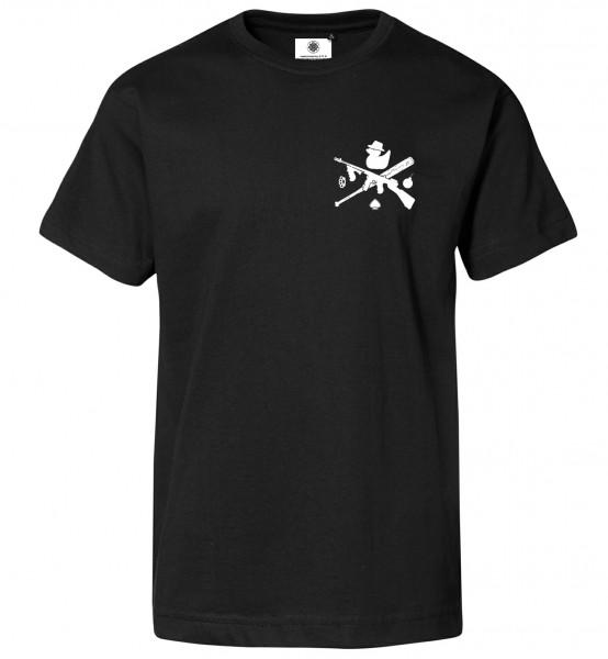 Bedrucktes Herren T-Shirt Bathwater Criminal