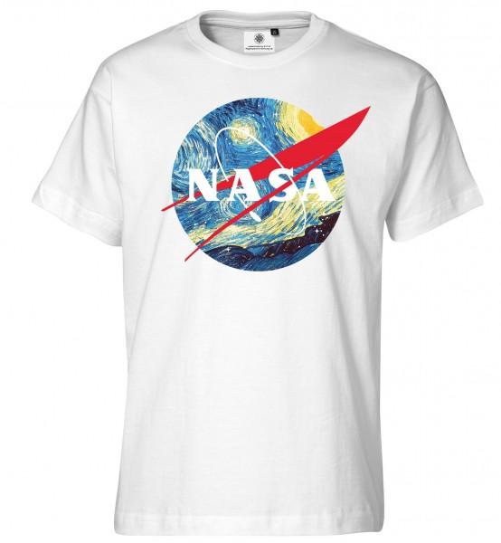 Bedrucktes Herren NASA T-Shirt Vincent van Gogh