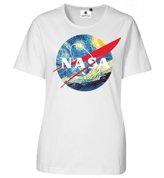 Bedrucktes Damen NASA T-Shirt Vincent van Gogh