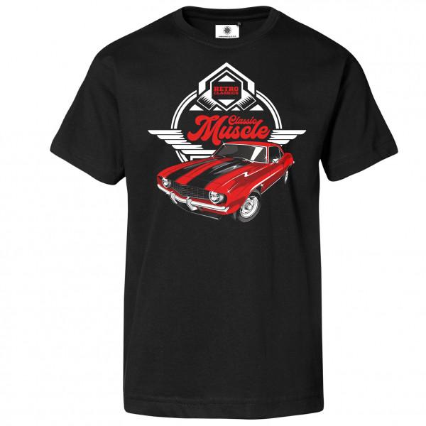 Bedrucktes Herren Retro T-Shirt Classic Muscle Car