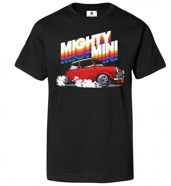 Bedrucktes Herren Oldtimer T-Shirt Mighty Mini