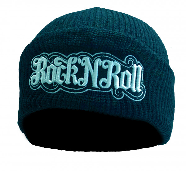 Customized by S.O.S Beanie Rock´n´Roll mit 3D-Stick