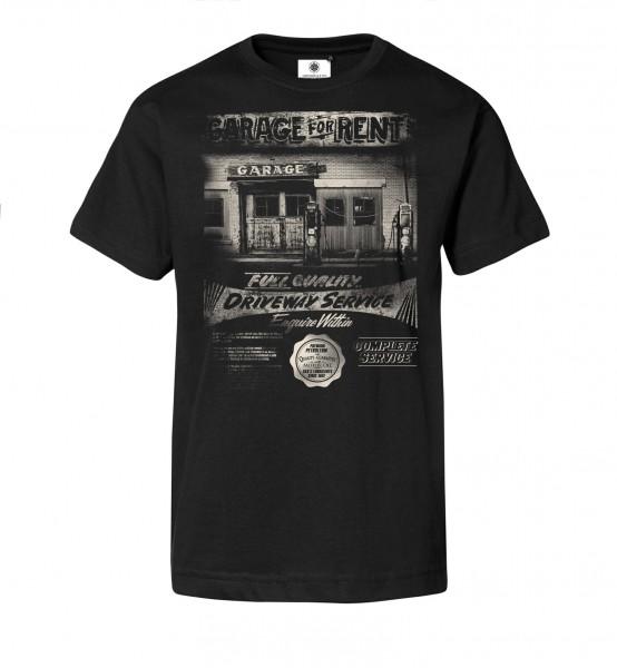 Bedrucktes Herren T-Shirt American Garage