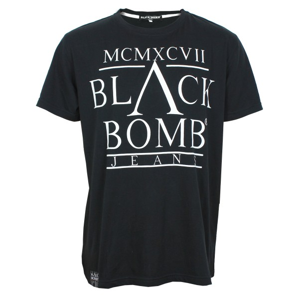 Black Bomb MCMXCVII T-Shirt black